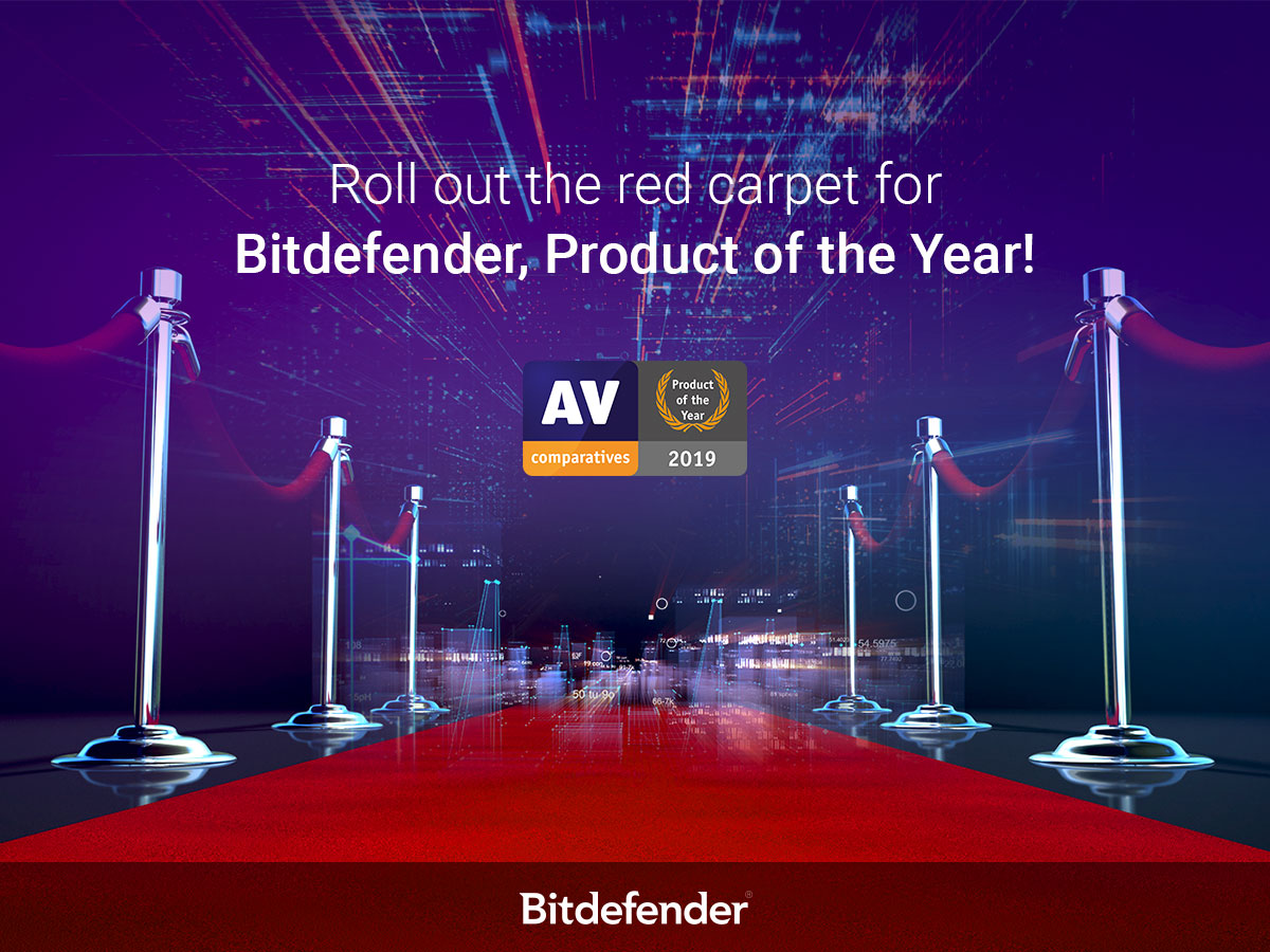 Bitdefender Wins AV-Comparatives 'Product of the Year' Award