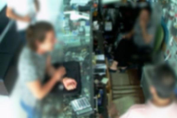 Webcam footage